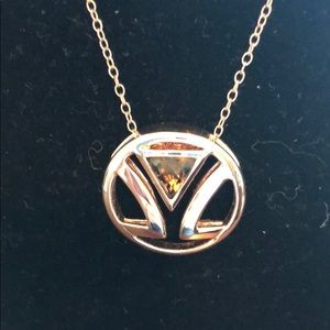 LeVian Logo Chocolate Topaz Necklace